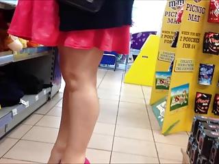 Sexy new heels and mini dress