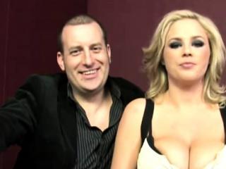 Katie Kox begrimed black cock in front of hisband