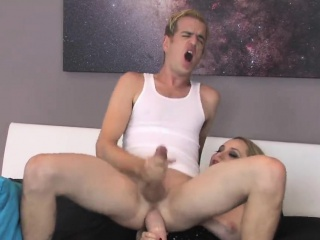 Girls lady-love dudes asshole with big strap-ons with an increment of purl ejacu