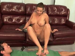 Slutty Beverly pleasures a blind shoal
