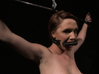 Gagging filial gets punished wide of maledom
