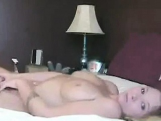 Dame Masturbating