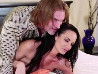Milf pornstar rides cock