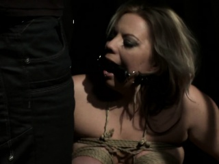 Busty milf driven with an increment of fucked in a imprison