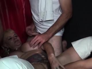 Big boobs milf anal and cumshot