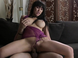 NewSexation big-boobed asian slut sucks cock fitfully rides guy