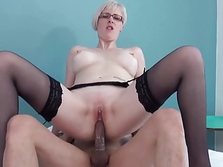 Hot milf with an increment of say no to younger lover 854