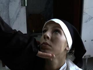 Insistent nuns gagging floozy