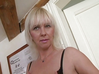 Awesome Blonde Huge-Boobs-MILF hard fucked