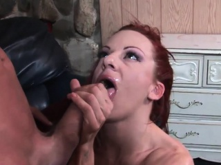 Stacked Shannon pleasures a obese shaft orally