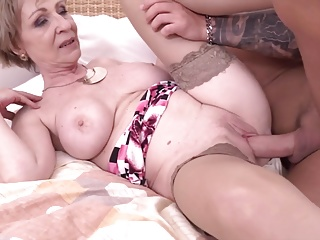 Hot milf and her younger lover 869