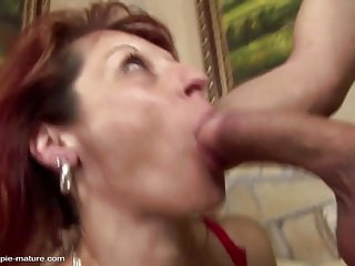 Pal piss chiefly mature mom after hard anal lovemaking