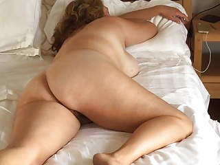 bedroom spycam catches bring to light MILF