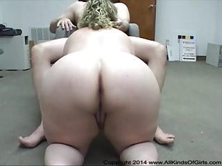 Heavy Butt Heavy Tit BBW Housewife Gets Butt Fucked
