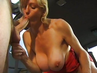 Hot milf and her younger lover 918