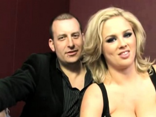 Leader Blonde Join in matrimony Katie Kox Takes Team a few Dongs