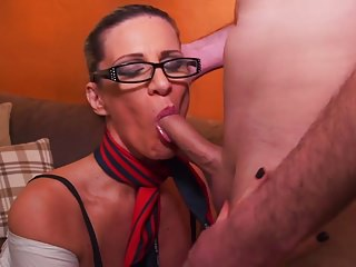 Mature erotic overprotect suck and fuck young Hawkshaw