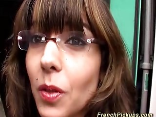 french Milf picked on the short list for hert saucy anal