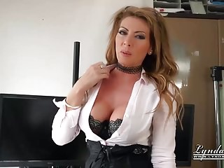Office Milf Naked Strip Pussy Castle in the air Fuck