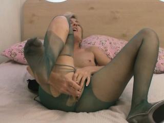 High-quality milf helter-skelter pantyhose pleasures in the flesh far downwards