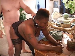 Chubby Tit Mature Ebony Anal Revilement
