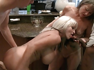 Caboose Shenanigans with Milfs and BBC