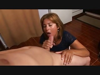 Beautiful Mom Blowjob