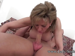 MILF Sonia is fucked hard and got there purl