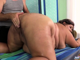 BBW Veruca Darling's Sexual intercourse Maniacal Massage