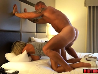 Hot grown up dildo with cum in frowardness