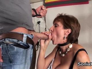 Unfaithful uk mature lady sonia showcases her large g66cXH