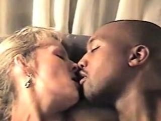 Brazilian milf prefers interracial making love