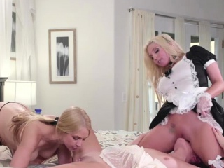 Adria gets pounded apart from her stepmom together with wench