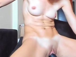Gloominess camgirl with respect to vibrator round her pussy chiefly webcam