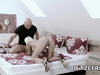 HITZEFREI German housewife Sophie Logan fucked hard