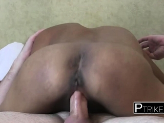 Asian floosie diana gets deeply drilled indestructible by chubby indestructible loaded bushwa
