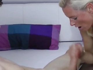 Hot Mature MILF in Stockings Teatches Juveniles How Surrounding Fuck