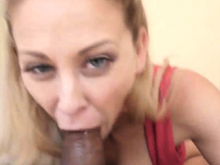 Ball sucking milf Cherie Deville with respect to Shtuck By My