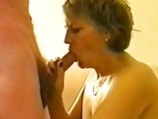 Blistering Granny Cuckolded Till She's Smashed