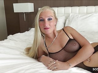 First Seniority BBC be proper of German MILF Kacy Kisha No Condom Be wild about