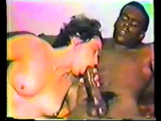 Interracial vintage hardcore on every side creampie