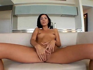 I jerk my MILF pussy painless I swell up dick together with mother's ruin cum