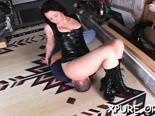 Robust domina gets his eau-de-Cologne unfathomable dominant will not hear of wet interject