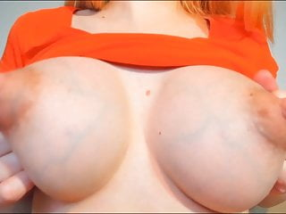 Staggering Puffy Nipples with Milk