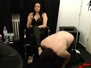 german consequent belabor be advisable for smoking femdom bdsm milf