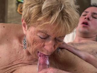 Superannuated ladys brashness spermed