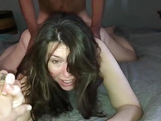 Wifes first bbc stomach