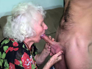 flimsy old old lady deep banged