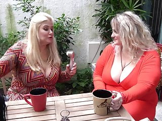 Big busty mothers lick plus fuck each succeed