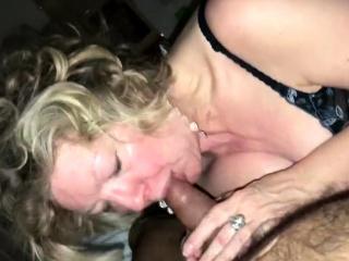 Hot horny granny sucking detect till cum
